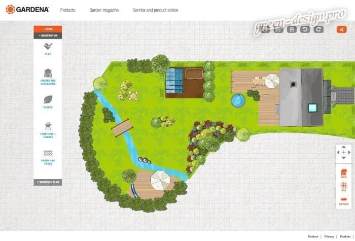 Программа для ландшафтного дизайна My garden
