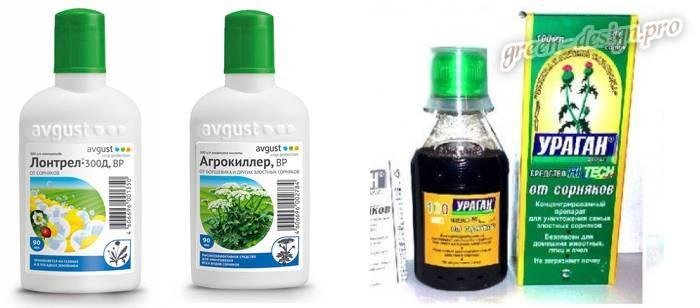Химические препараты от пырея