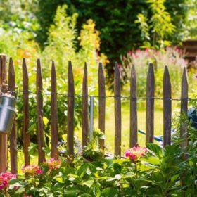 красивый забор для палисадника своими руками